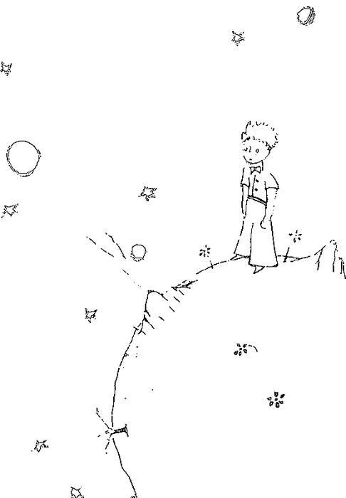 The Little Prince Coloring Pages - Costumepartyrun