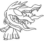 Mega Evolved Pokemon Coloring Pages