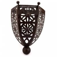 Moroccan wall light wrought iron ALAMBRA, luminaries