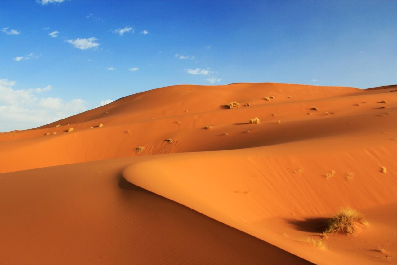 I Am Alone Wallpapers 3d Erg Chebbi Morocco