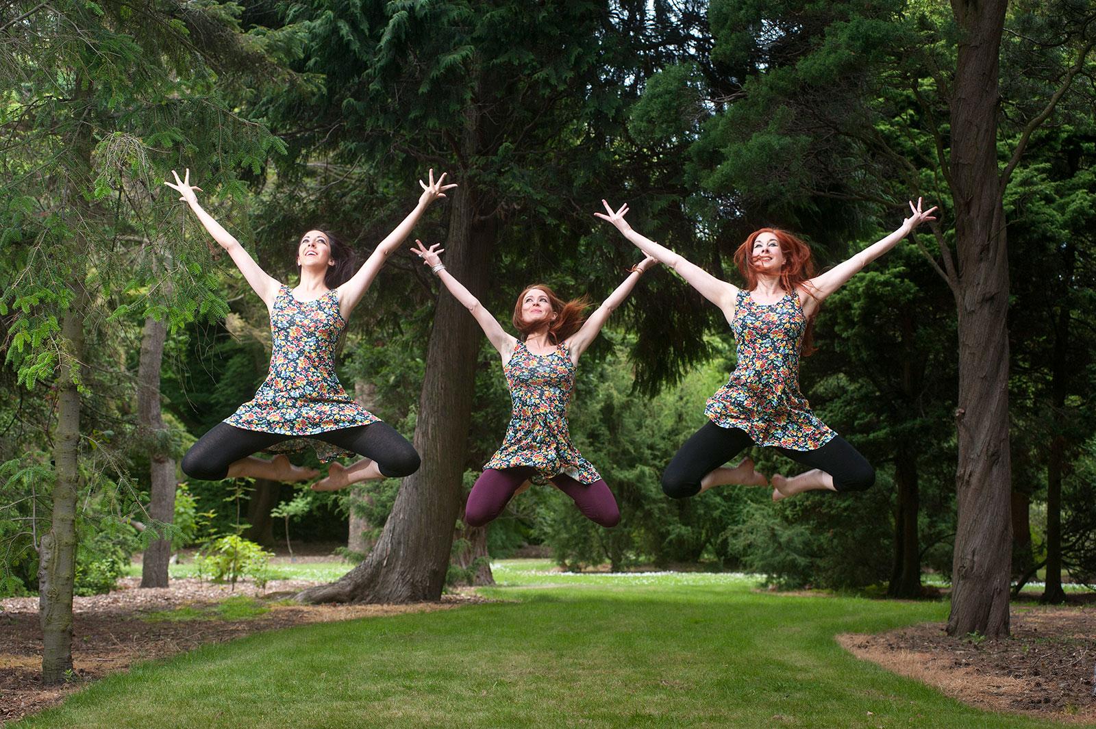 Promo shoot in the Botanical gardens, Edinburgh for Dance Ihayami