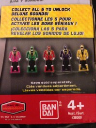 Unlock Sounds with the 5 Super Megaforce Rangers