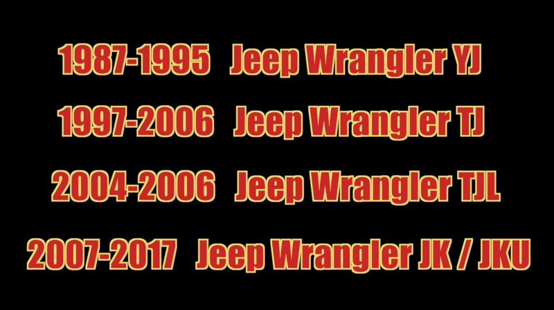 Jeep Knowledge Center - What Do the 2 Letter Jeep Model Mean?