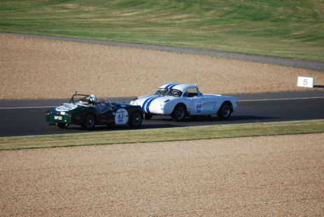 Corvette C1 vs Triumph TRS