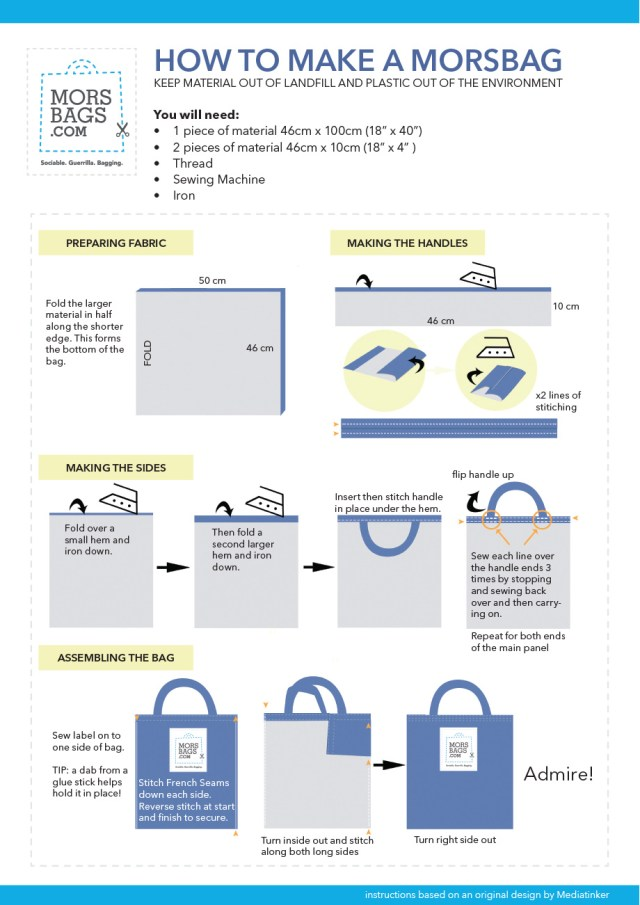 Morsbags Instructions