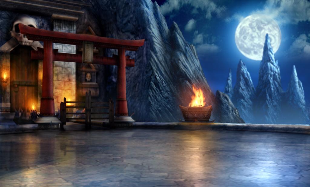 3d Pyramid Wallpaper Mkwarehouse Mortal Kombat Armageddon Arenas