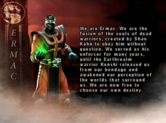 King 3d Wallpaper Mkwarehouse Mortal Kombat Deception Ermac
