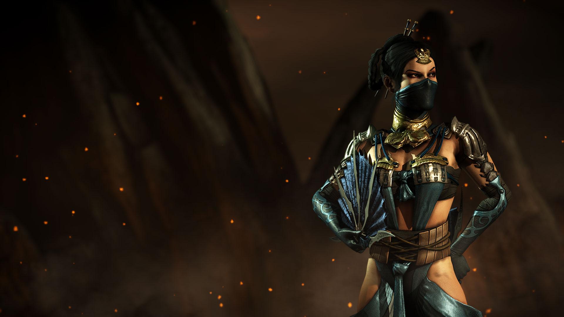 Smoking Girl Hd Wallpaper For Mobile Mkwarehouse Mortal Kombat X Kitana