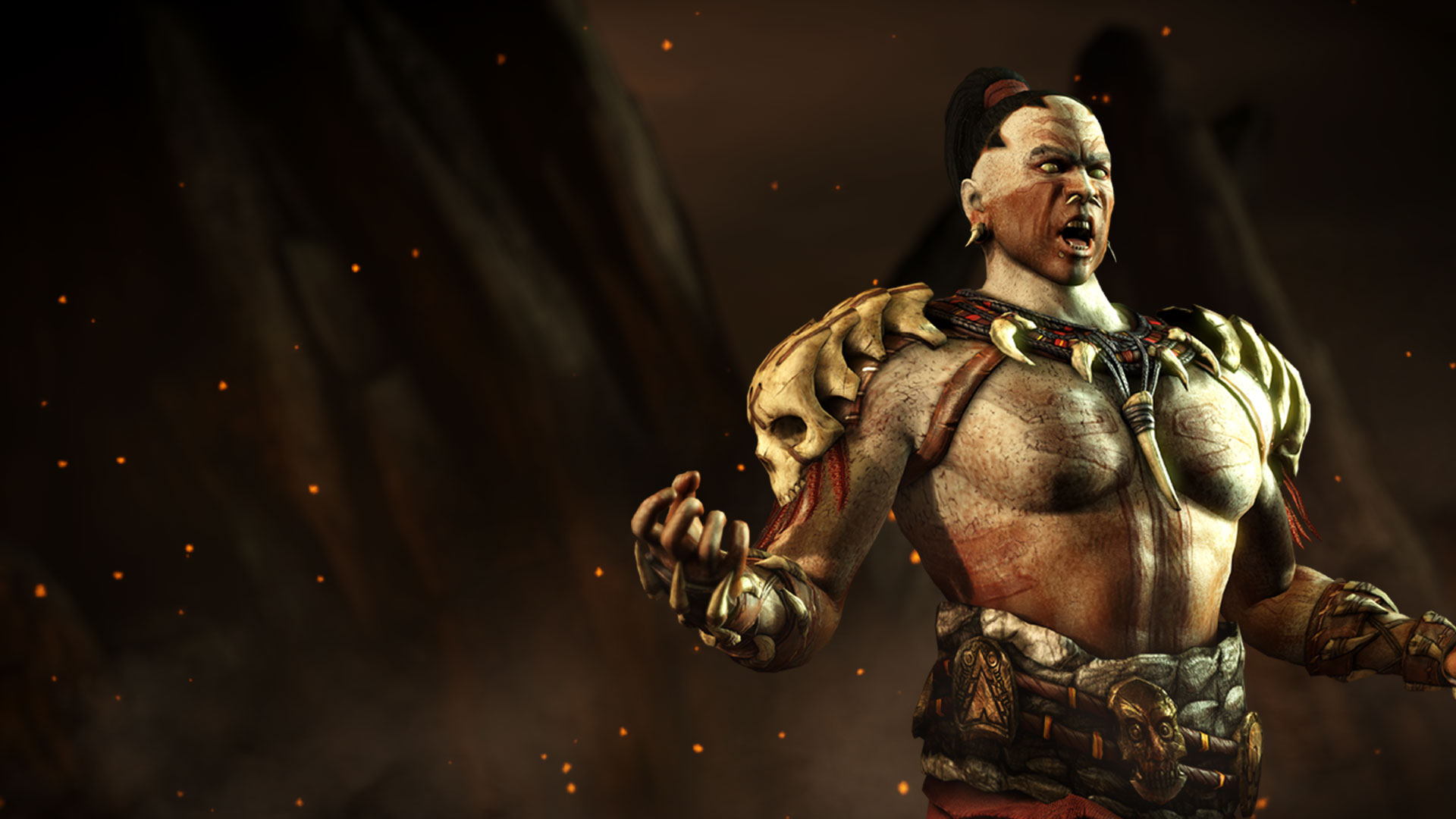 Scorpion Mortal Kombat Hd Wallpaper Mkwarehouse Mortal Kombat X Kotal Kahn