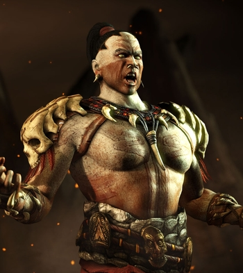 Video Games 3d Wallpaper Mkwarehouse Mortal Kombat X Kotal Kahn