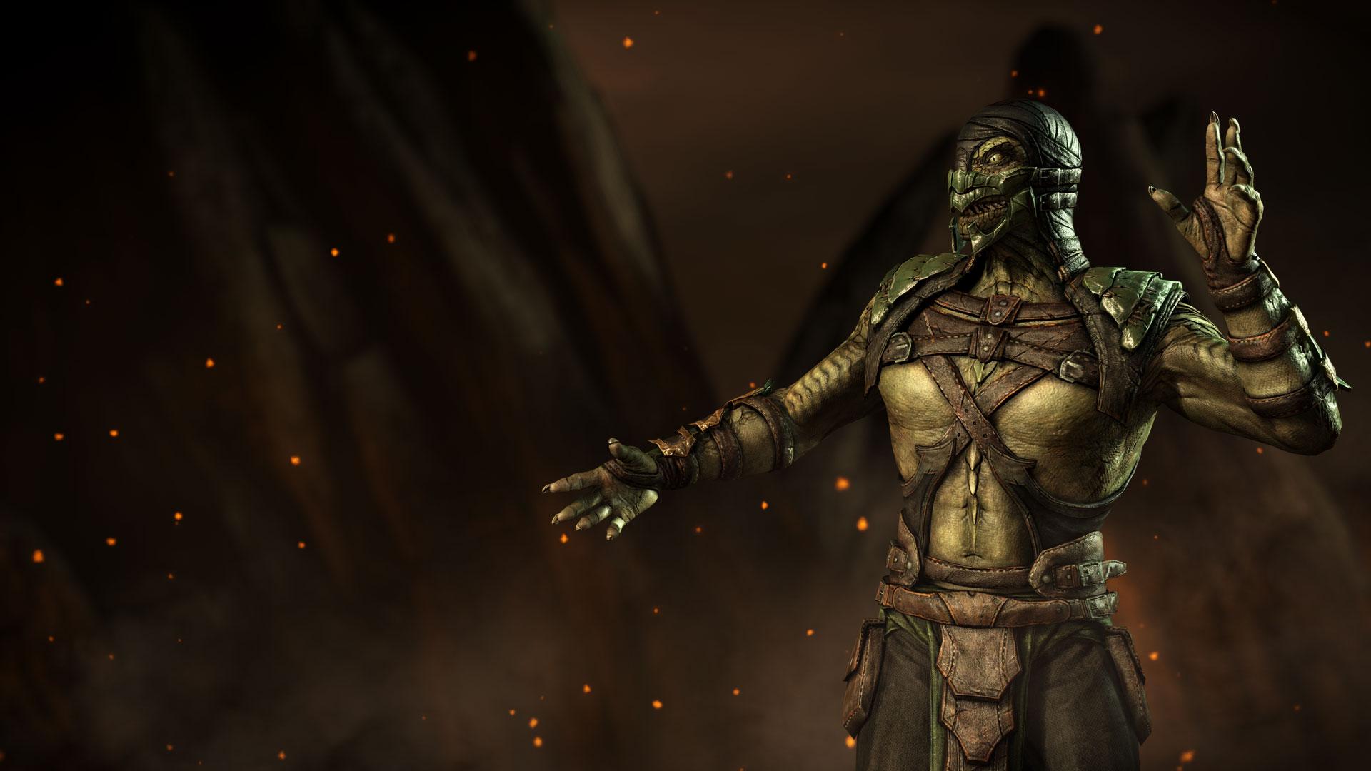 Wallpaper Hd 4k Mkwarehouse Mortal Kombat X Reptile