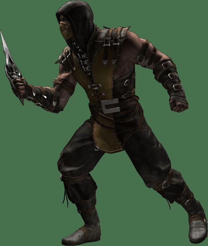 Gold 3d Wallpaper Mkwarehouse Mortal Kombat X Scorpion