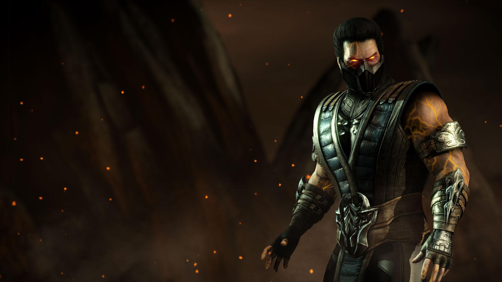 Live Wallpaper For Iphone X Mkwarehouse Mortal Kombat X Sub Zero