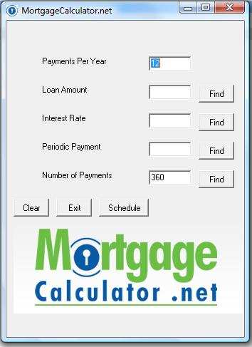 Free Mortgage Calculator Download - Easy To Use Calculator