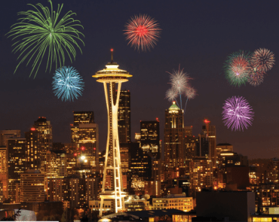 Where to Watch Fire Works in the Pacific Northwest this Independence Day