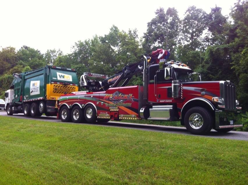 Photo Gallery of our Maryland Heavy Duty Towing - Morton\u0027s Towing - morton's towing