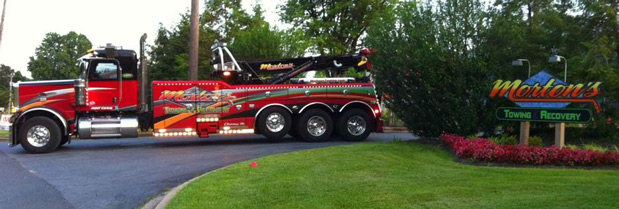About- Towing, Battery and Recovery Service in Maryland - Morton\u0027s