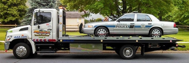 Light Duty Towing, Recovery  Roadside Assistance- Maryland