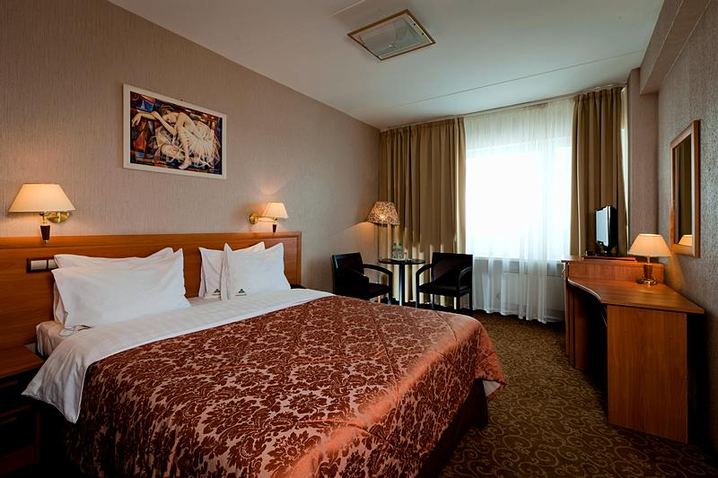 First Class Double Rooms at the Izmailovo Beta Hotel in Moscow