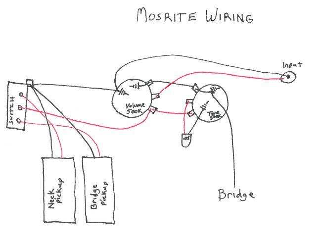 mosrite pickup wiring diagram