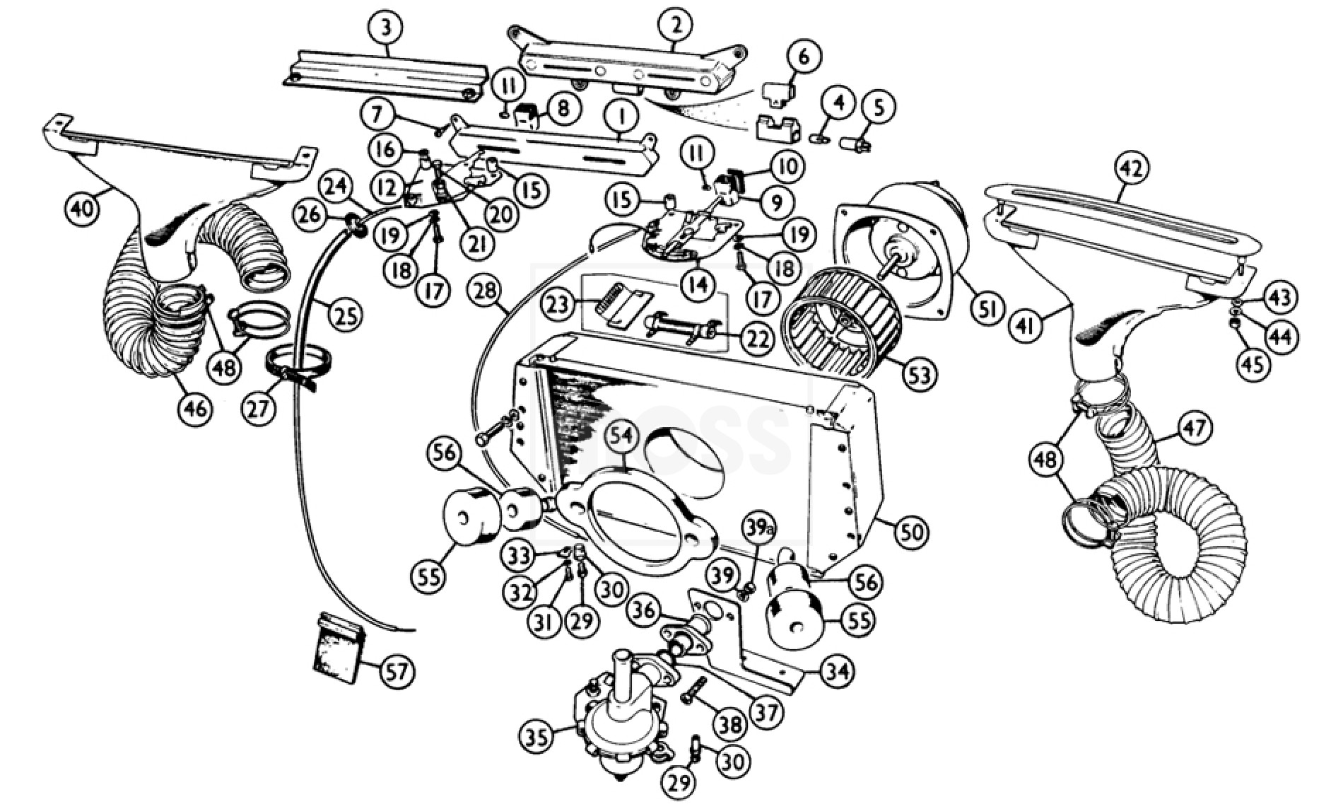 62 austin healey sprite wiring diagram