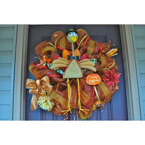 Medium Crop Of Thanksgiving Door Decorations