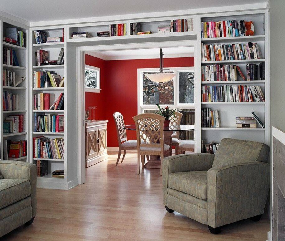 15 Home Library Design Examples MostBeautifulThings - home library design