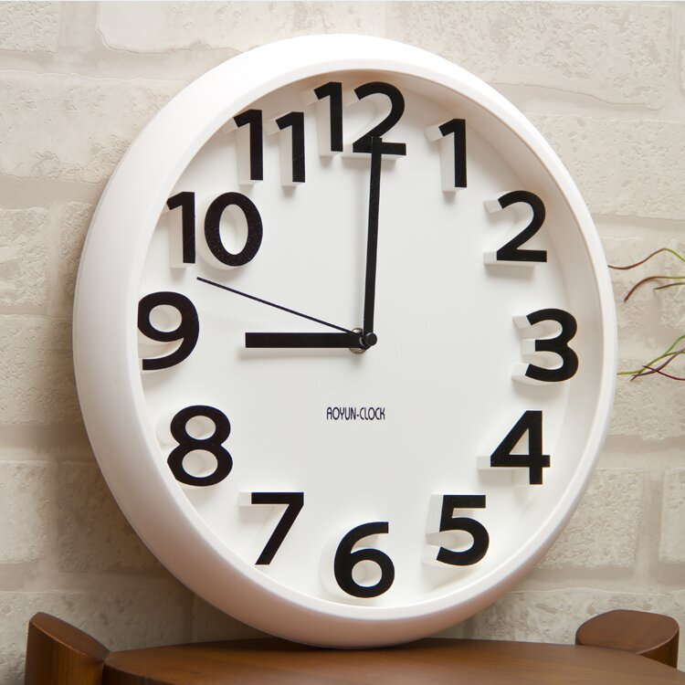 19 Inspiring Wall Clocks For Living Room Decor MostBeautifulThings - living room clock