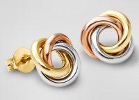 Earrings Gold Studs Diamond Gold Stud Earrings For Women ...