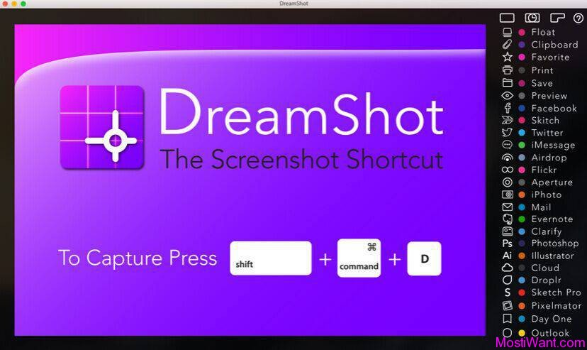 DreamShot Screen Capture Tool for Mac Free License Code - Most i Want