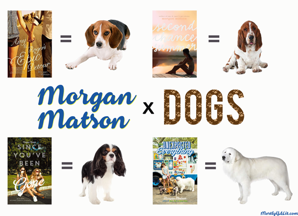 I Double Dog Dare You: Morgan Matson x Dogs + Favorites Poll! #UnexpectedlyEpic #MorganMatsonWeek