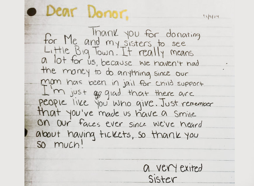 Most Valuable Kids THANK YOU NOTES
