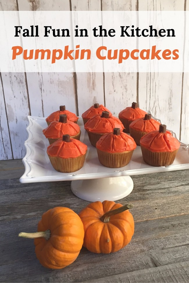 Fall Fun in the Kitchen with Pumpkin Cupcakes - Kids Activities