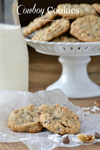Cowboy Cookies Recipe | Mother Thyme