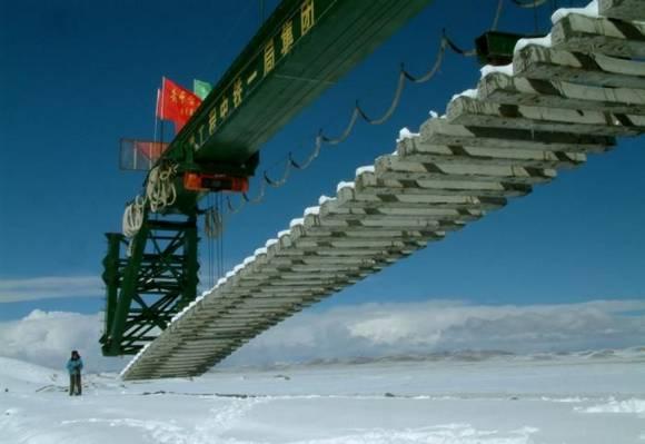 Railway construction China 1 Railway construction in China