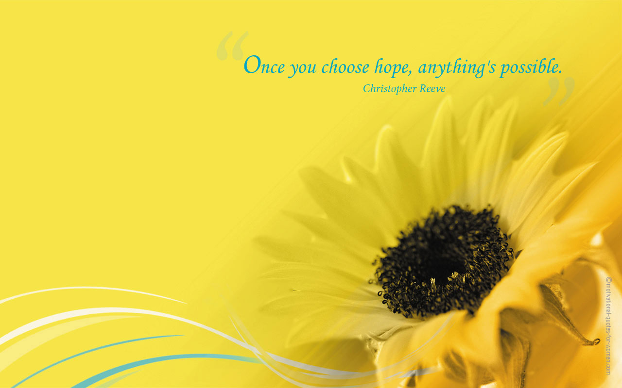 Sunflower Wallpaper With Quote Motivational Wallpaper 3 Motivational Quotes For Women