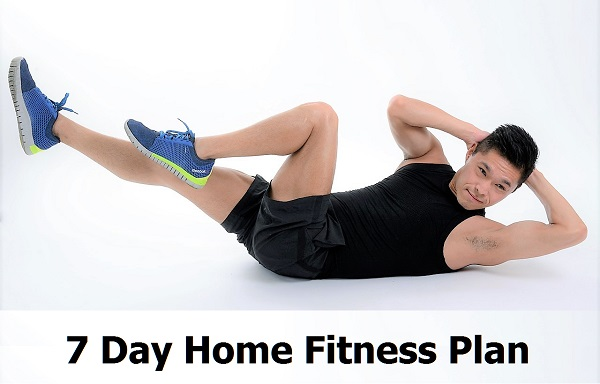 Weekly Exercise Plan For Fitness And Weight Loss At Home - MotleyHealth®