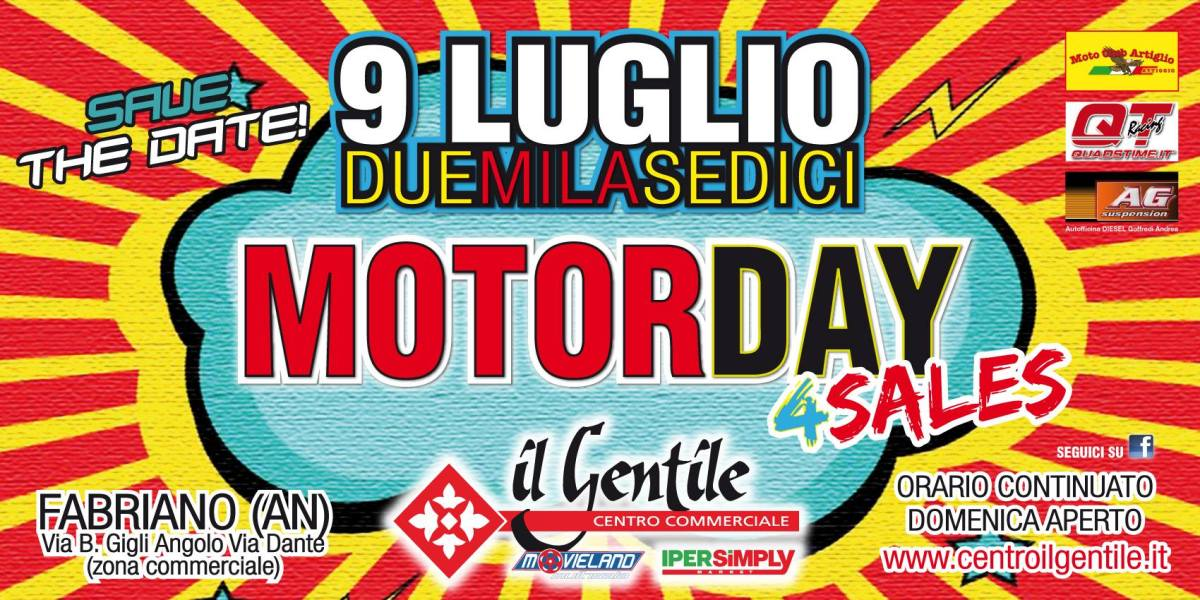 MOTOR DAY 4 Sales 2016