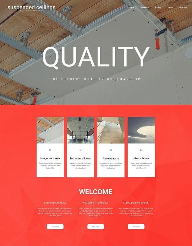 How to Make a Construction Website Design Tricks