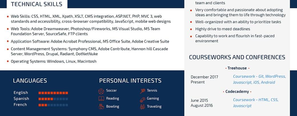 ATS Friendly Resume Template - Format Guide  Sample CV Templates - ats resume