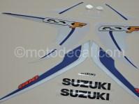 Suzuki GSX 600F Katana 2006-2007 Blue DECAL KIT by ...