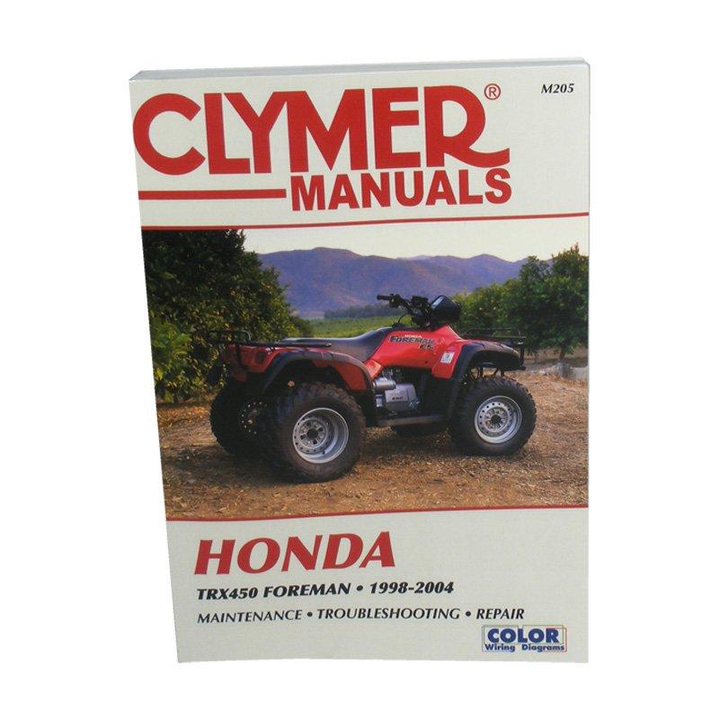 1998-2004 Honda TRX450 Foreman ATV Clymer Repair Manual  M205