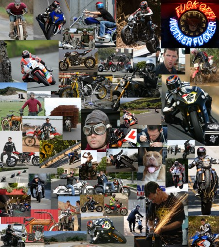 A mix of motorcycling stuff from over the years