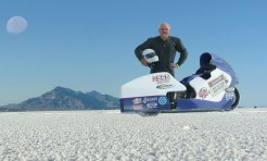 AirTech Streamliner on the Salt Flats