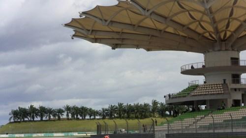 Sepang F1 circuit in Malaysia is impressive