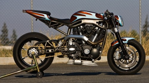 This gorgeous motorbike is named the Hellion