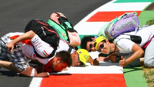 Worshiping Mugello