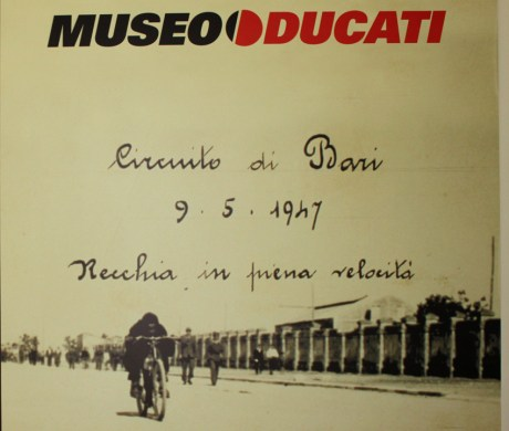 The Ducati Museum is a brilliant place to visit