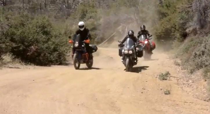 3 fun adventure bikes, 3 biking buddies, 1 great day!!