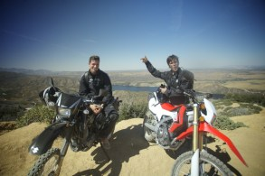 Riding the DRZ400 and CRF250L with Sean Matic